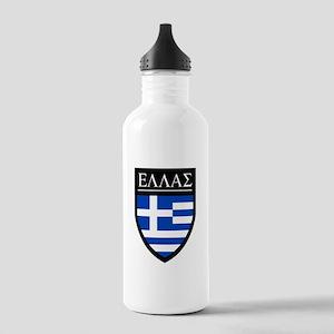 Greece (Greek) Patch Stainless Water Bottle 1.0L
