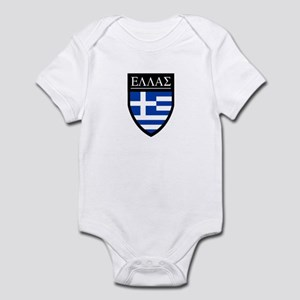Greece (Greek) Patch Infant Bodysuit