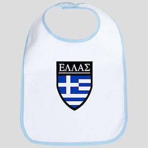 Greece (Greek) Patch Bib