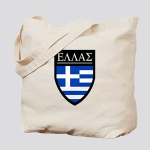 Greece (Greek) Patch Tote Bag