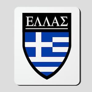 Greece (Greek) Patch Mousepad