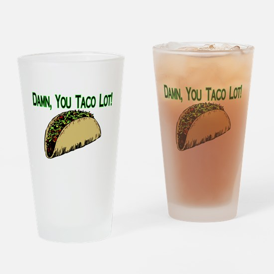 Taco Lot Pint Glass