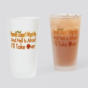 Heaven And Hell Pint Glass