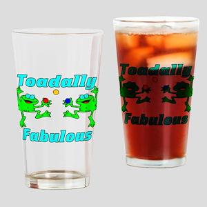 Toadally Fabulous Pint Glass