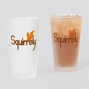 Squirrely Pint Glass