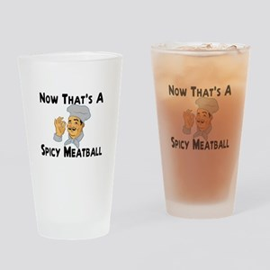 Spicy Meatball Pint Glass