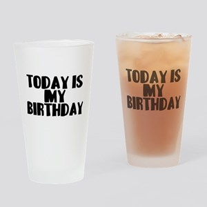 Birthday Today Pint Glass