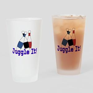 Juggle It Pint Glass