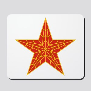 Red Kremlin Star Mousepad