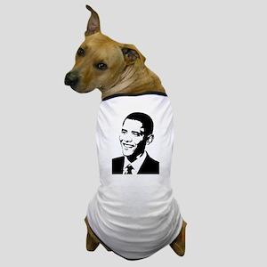 Barack Obama Stencil Dog T-Shirt