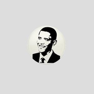 Barack Obama Stencil Mini Button