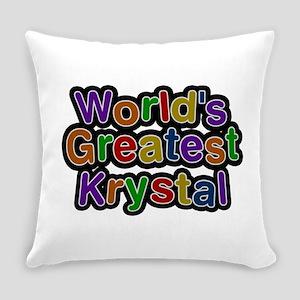 World's Greatest Krystal Everyday Pillow