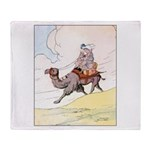 Camel Art Throw Blanket
