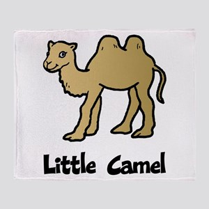 Little Camel Throw Blanket