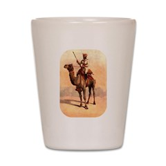 Camel Art Shot Glass