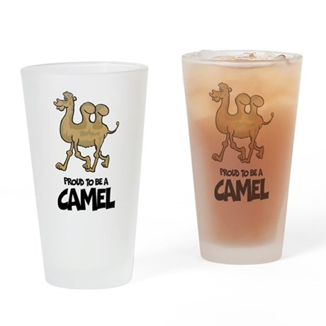 Proud To Be A Camel Pint Glass