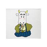 Kimono Cow Throw Blanket