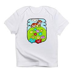 Flowers & Cow Infant T-Shirt