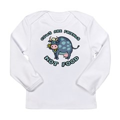 Cows Are Friends Long Sleeve Infant T-Shirt