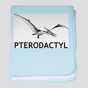 Pterodactyl baby blanket