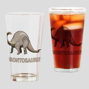 Brontosaurus Pint Glass