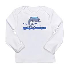 Dolphin Long Sleeve Infant T-Shirt