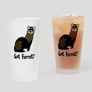 Got Ferret? Pint Glass