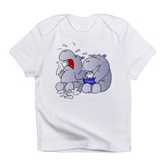 Crying Hippo Infant T-Shirt
