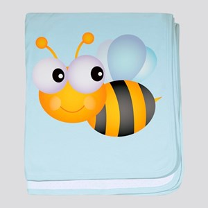 Cute Bee baby blanket