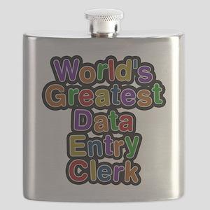 Worlds Greatest Data Entry Clerk Flask