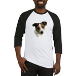 Jack Russell Watercolor Baseball Jersey