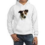 Jack Russell Watercolor Hooded Sweatshirt