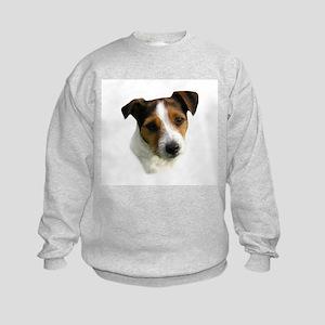 Jack Russell Watercolor Kids Sweatshirt