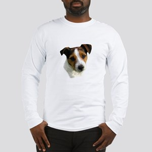 Jack Russell Watercolor Long Sleeve T-Shirt