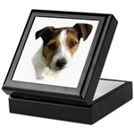 Jack Russell Watercolor Keepsake Box