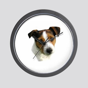 Jack Russell Watercolor Wall Clock