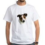 Jack Russell Watercolor White T-Shirt