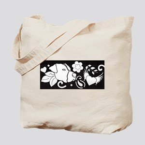 Tattoo Strip Tote Bag