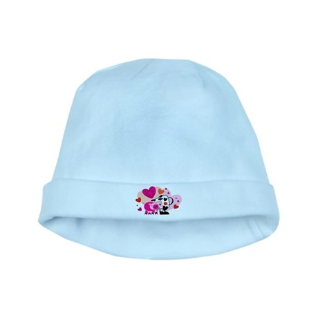 Cow & Pig baby hat