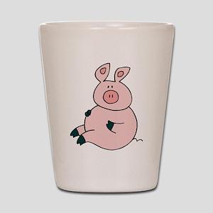 Cute Pig Shot Glass