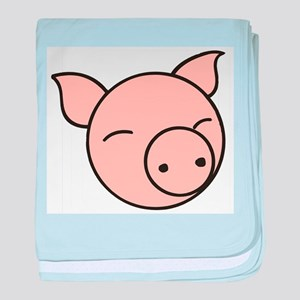 Cute Pig baby blanket