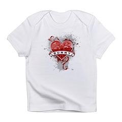 Heart Bunny Infant T-Shirt
