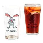 Got Rabbit? Pint Glass