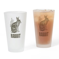 Vintage Rabbit Pint Glass