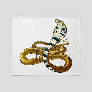 Cobra Throw Blanket