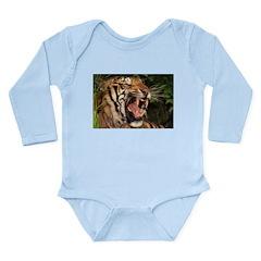 Tiger Long Sleeve Infant Bodysuit