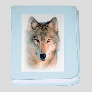 Wolf baby blanket