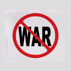 Anti-War Throw Blanket