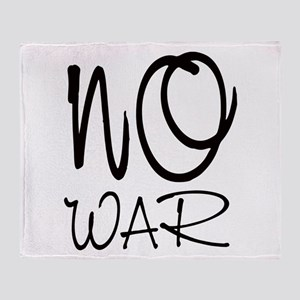 Anti War Throw Blanket