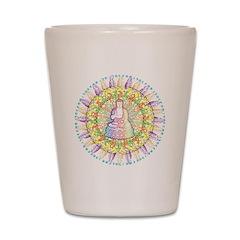 Colorful Buddha Shot Glass